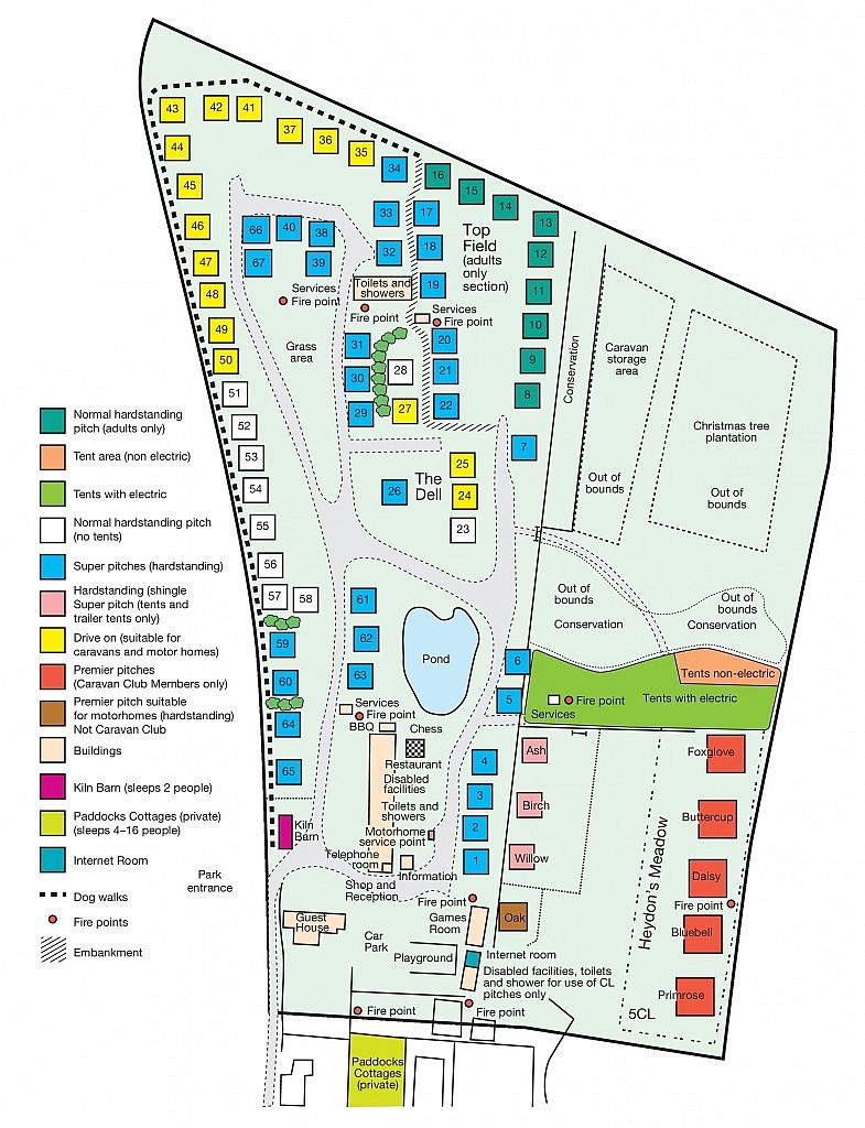 cropped park map