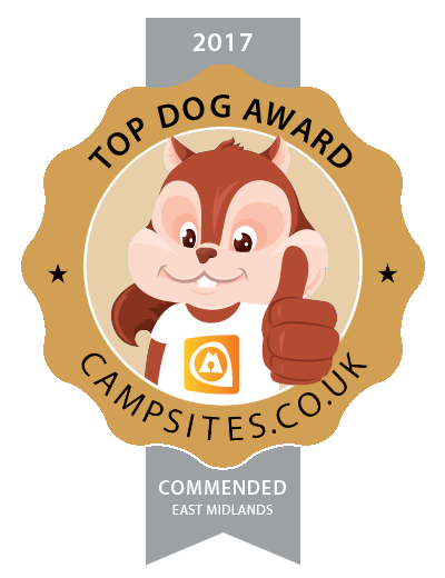 We were a winning Norfolk site in the Campsites.co.uk camping awards