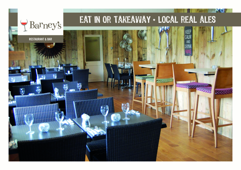 Barney's Restaurant & Bar between Fakenham and Holt