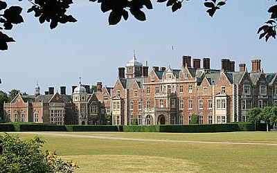 Sandringham House – Open from 15th April (gardens open from 1st April)