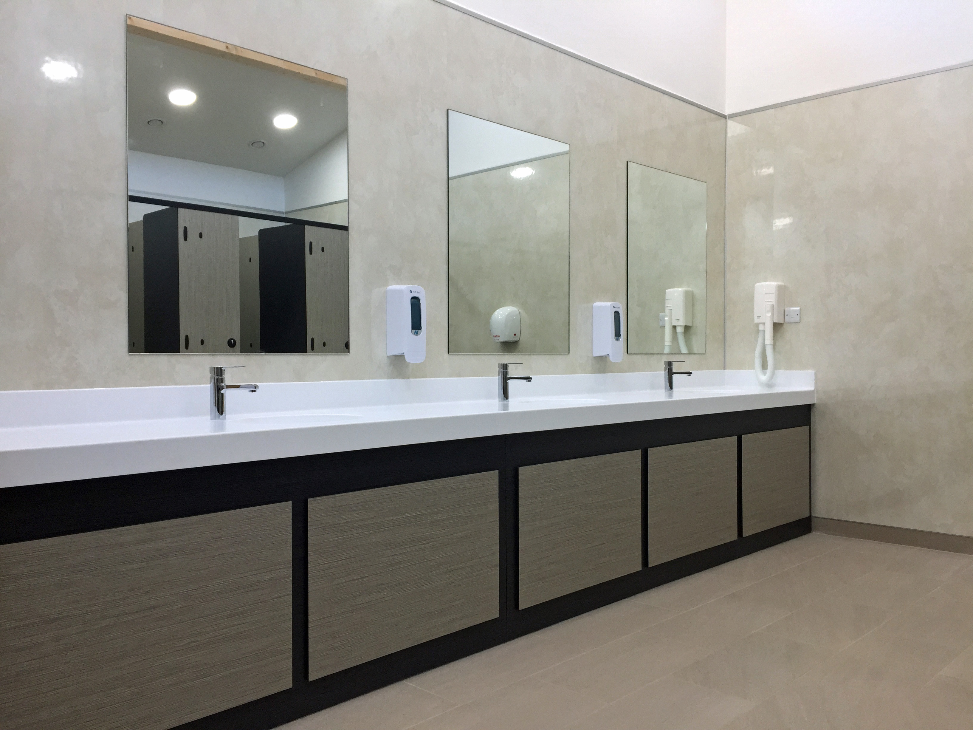 New Washrooms